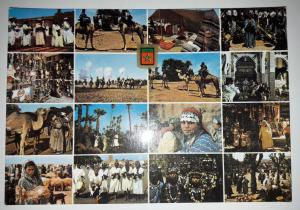 Morocco, Typical Morocco, Different Aspects Postcard