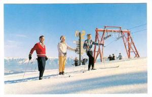 North Star Mountain, Bar Ski Lift, Skiing, Kimberley, British Columbia, Canad...