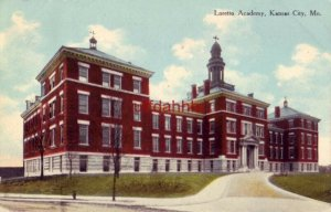 LORETTO ACADEMY. KANSAS CITY, MO 1910