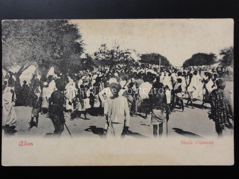 Yemen: Aden - Shaik Othman - Old UB Postcard