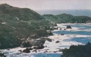 Ocean View from Honeymoon Cottage At Highlands Inn Carmel California