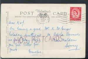 Genealogy Postcard - McGregor - 34 Adela Avenue, New Malden, Surrey  RF4387