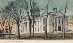KINGSTON , Ontario , Canada , 1900-10s ;  Court House