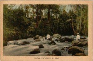 CPA INDONESIA Natuurtafereel in Deli (341170)