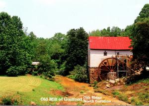 North Carolina Oak Ridge Old Mill Of Guilford Highway 68