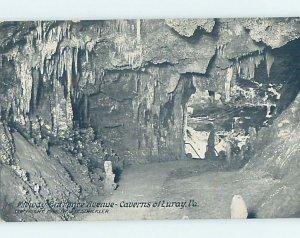 Divided-back CAVERNS SCENE Luray - Near Harrisonburg Virginia VA AD4952