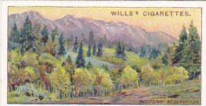 Wills Cigarette Card Overseas Dominions Canada No 16 Kootenay Reservation