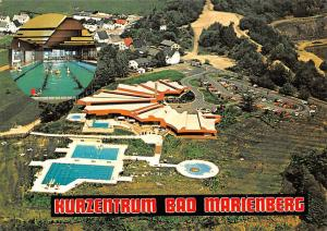 Hurzentrum Bad Marienberg Schwimmbad Swimming Pools Cars Auto Aerial view