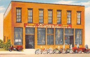Kennys Harley Davidson Motorcycle CO Kansas City MO USA Unused