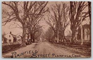 Plainfield Connecticut~Plainfield Street~Berger Bros Pub Co~c1910 Postcard