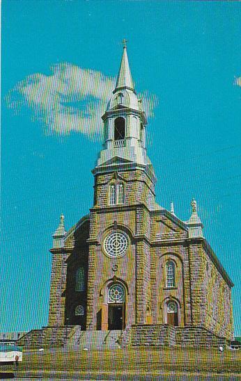 Canada Nova Scotia Cape Breton L Eglise Saint Pierre Cheticamp