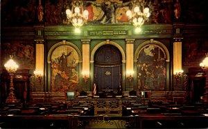 Pennsylvania Harrisburg State Capitol Building Senate Chamber