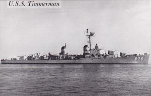 U S S Timmerman