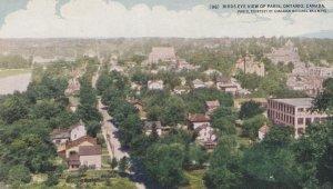 PARIS, Ontario, Canada, 1900-1910s; Birds Eye View Of Paris