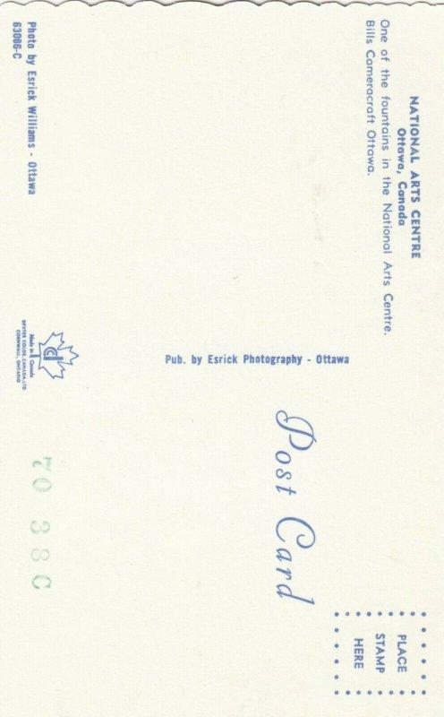 OTTAWA , Ontario , 1950-60s ; National Arts center