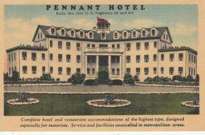 RT 66: Rolla , Missouri , 1930-40s ; Pennant Hotel