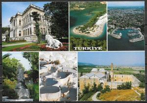 1993 Turkey, multi views, countrywide, mailed to USA