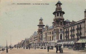 Belgium Blankenberge Le Kursaal et la Digue 1909