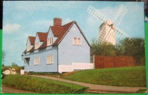 England The Mill Duck End Finchingfield - posted 1977