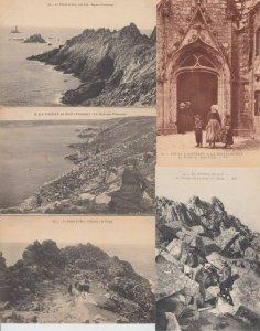 POINTE DU RAZ FINISTÉRE (DEP.29) BRETAGNE 32 Cartes Postales 1900-1940
