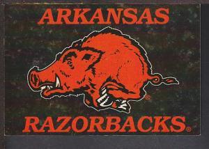 Arkansas Razorbacks Postcard BIN