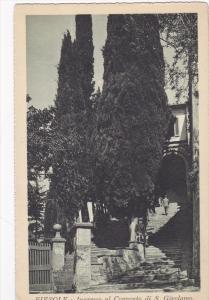 Italy - Firenze (Florence) Fiesole - Ingresse al Convento di S. Girolamo ,  0...