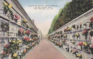 Louisiana New Orleans Vaults Of Old St Louis On All Saints Day