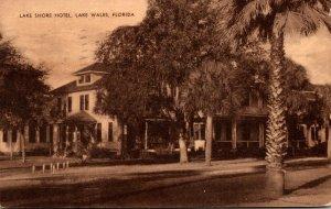 Florida Lake Wales Lake Shore Hotel 1940