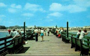 Virginia Virginia Beach Scene On 912 Foot Fishing Pier