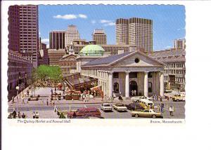 Quincy Market and Faneuil Hall, Boston, Massachusetts, Photo Alan Klein, 50's...