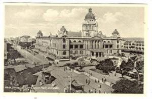 West Street Showing Town Hall, Durban, South Africa, 1910-1920s