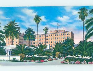 Pre-1980 HOTEL SCENE Santa Monica - Los Angeles California CA AE0971