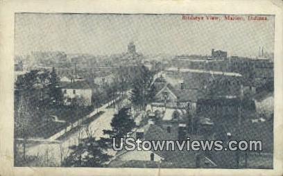 Marion, Indiana, IN, Post Card Marion IN 1908