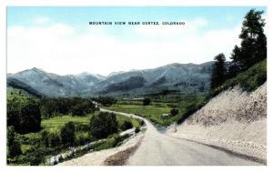 Mountain View near Cortez, CO Postcard *5N9