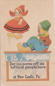 Pennsylvania New Castle Dutch Kids 1916