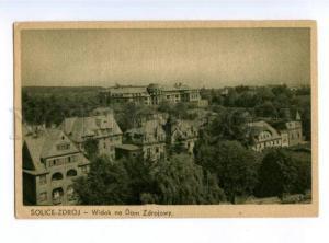 173962 POLAND SOLICE-ZDROJ Dom Zdorojowy Vintage postcard