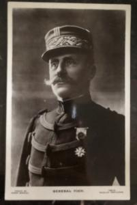 Mint France RPPC Real Picture Postcard General Foch World War One