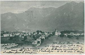 Vintage postcard: SWITZERLAND - SCHWEIZ : Lax -  Goms, Valais - 1905