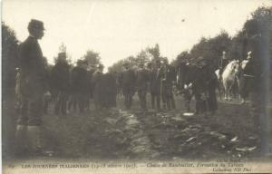 CPA Les Journées Italiennes-La Chasse de RAMBOUILLET Formation du Tab. (260728)