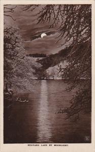 RP, Rudyard Lake By Moonlight,  Staffordshire, England, UK, 1920-1940s