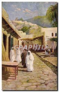 Old Postcard Fantasy Orientalism