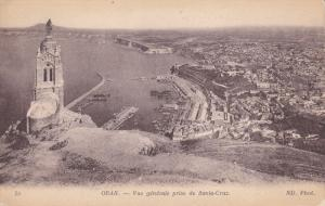 ORAN , Algeria , 00-10s ; Vue generale prise de Santa-Cruz