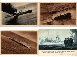 NAVIRE DE GUERRE ITALY WARSHIPS MILITAIRE NAVY SHIPS, 26 CPA Mostly pre - 1940