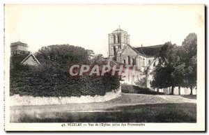 Postcard Old Vezelay View of The Church Walks Jack