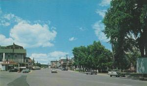Canada Road from City Hall in beautiful Edmundston,New Brunswick,Canada,40-60s