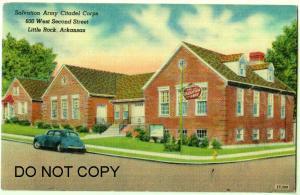 Salvation Army Citadel Corps, Little Rock Ark