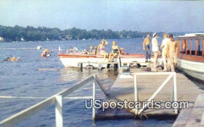 Boat Rides State Park Lake Hopatcong Nj Unused Hippostcard