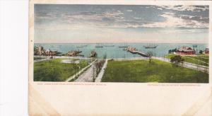 James River from Hotel Warwick , NEWPORT NEWS , Virginia , 1902