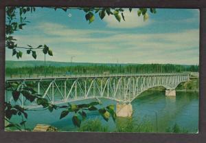 Bridge Over The Fraser River, Prince George, BC - Unused c1965