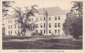 Washington Seattle Lewis Hall University Of Washington Albertype